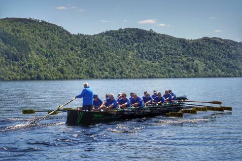 """TKNIKA's """"Basque Country"""" rowing boat makes history in Loch Ness"""