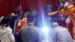 Finalización del curso «Programación de robot y ejecución de piezas por Fabricación Aditiva Metálica WAAM»