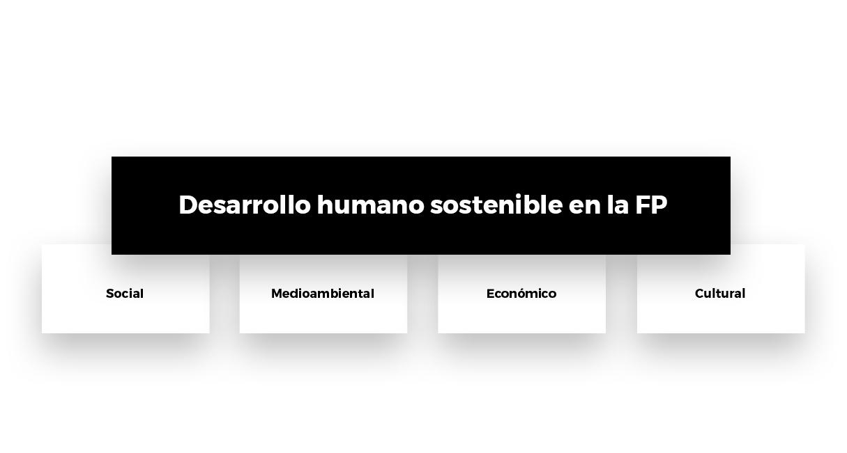 Desarrollo humano sostenible en la FP