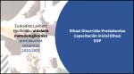 Euskadiko  Lanbide  heziketako  aldaketa  metodologikorako  oinarrizko  Ethazi  prestakuntza  eskaintza  2020/2021