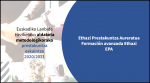 Euskadiko  Lanbide  heziketako  aldaketa  metodologikorako  Ethazi  prestakuntza  aurreratua  eskaintza  2020/2021