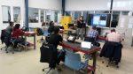 Finalizado curso de inspección de probetas de fibra de vidrio y carbono mediante Phased Array y ultrasonidos convencionales