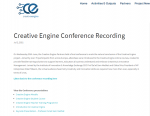 CE conference recording